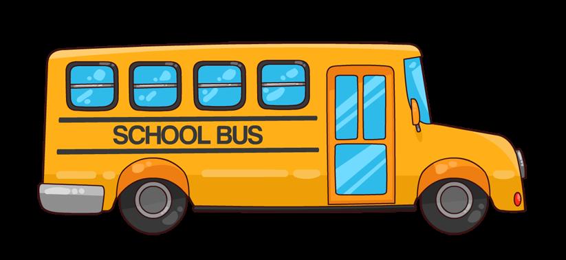 picture download Bus clipart scool. Cartoon school .
