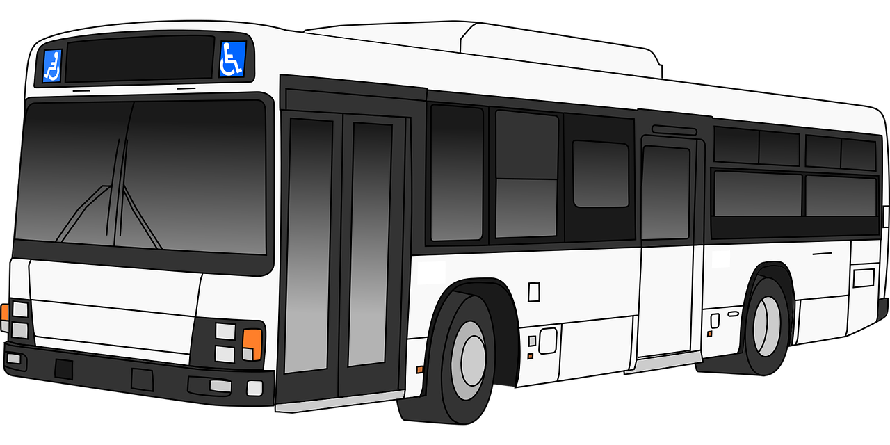 vector transparent library Bus clipart shuttle bus. The stops here silhouette.