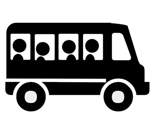 vector freeuse Bus clipart shuttle bus. Vehicle ymrc vehicleclipartshuttlebus.