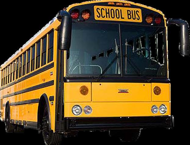 free stock School bus transparent background image
