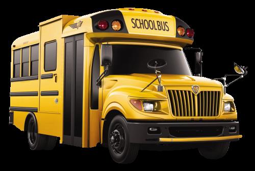 picture School Bus PNG Transparent Image