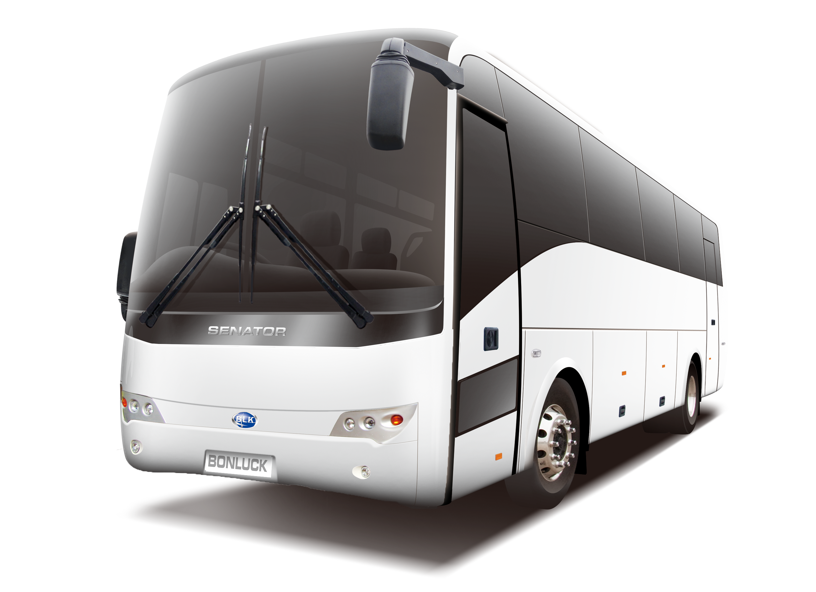 clipart free library Vector bus coach.  png for free