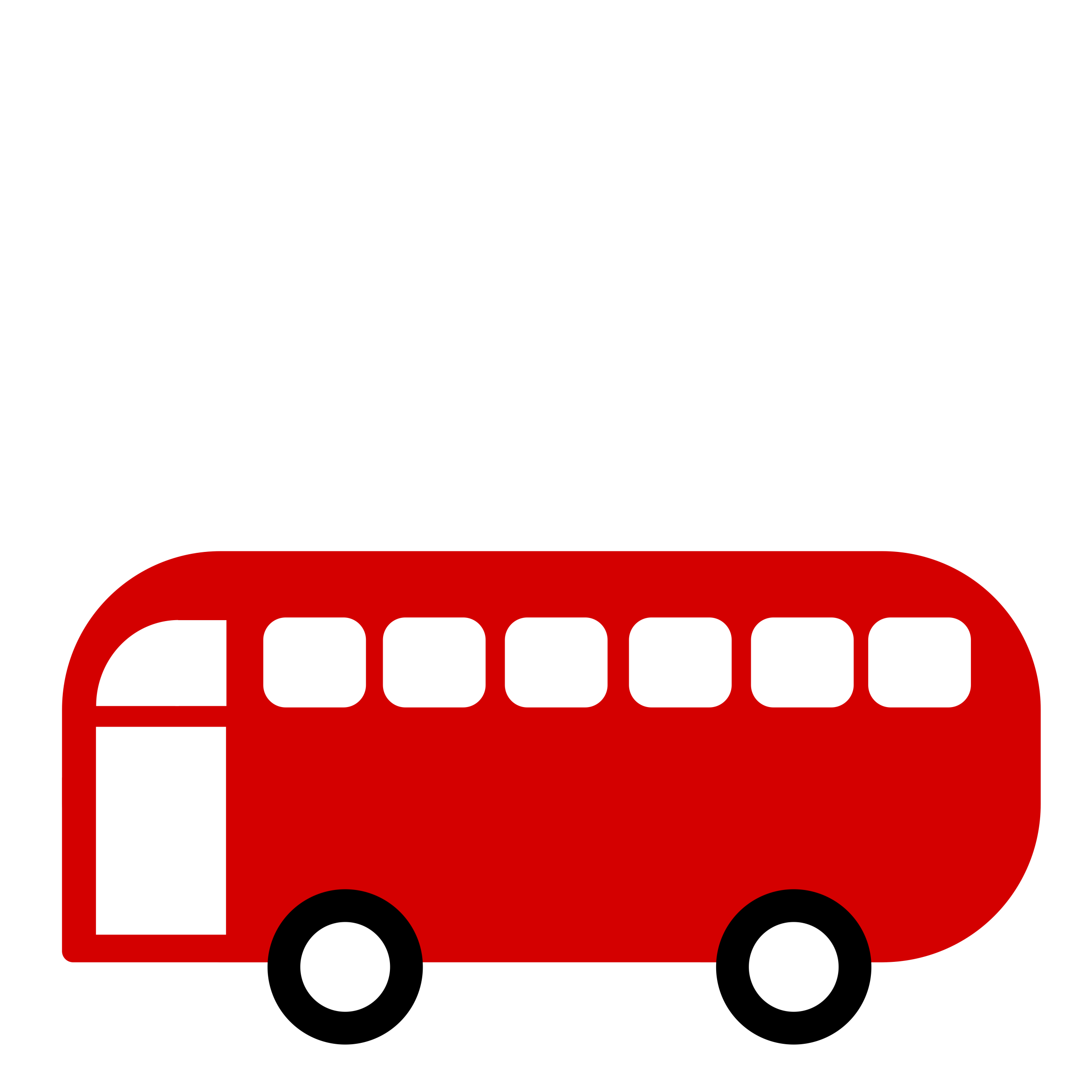 vector royalty free Vector bus simple. Clipart or van simplistic