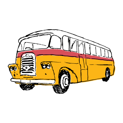 banner library library bus transparent old #91076616