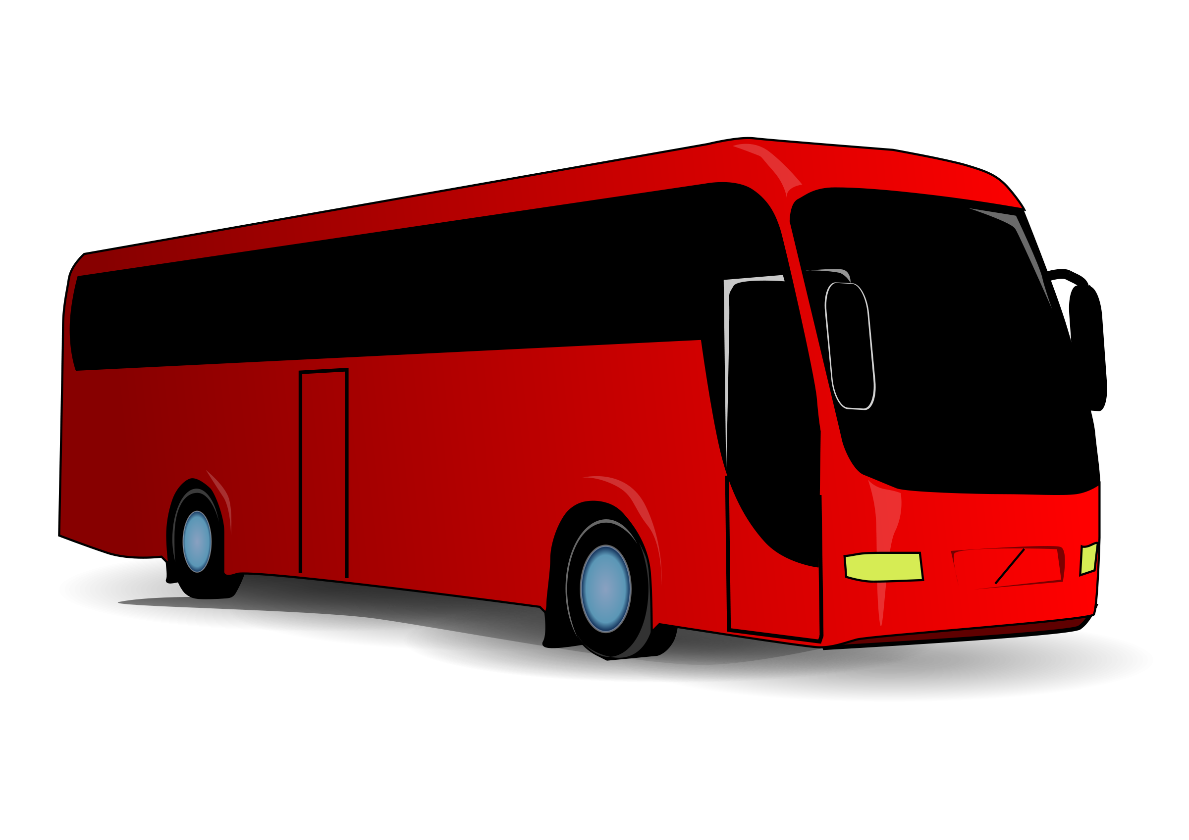 svg royalty free stock Red Bus PNG Image