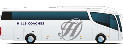 clipart black and white library Welcome to Hills Coaches