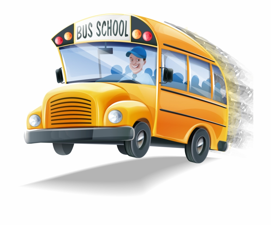 vector royalty free library School Bus Transparent Background
