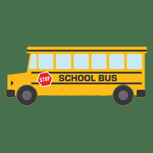 jpg Flat bus school bus school