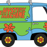 jpg black and white Mystery Machine Vector Scooby Doo Van Animated Gifs