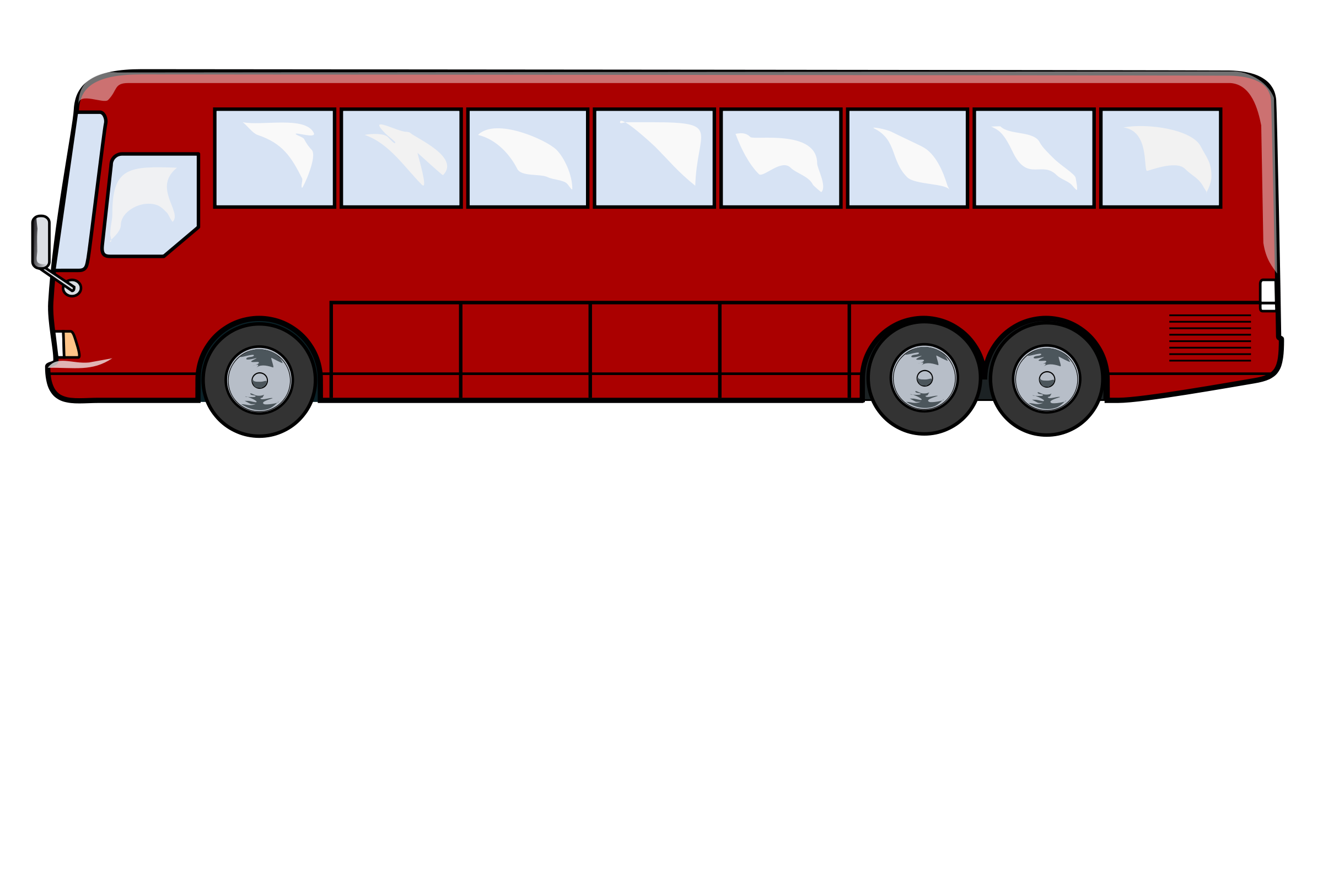 stock Vector bus side view. Png hd mart graphic