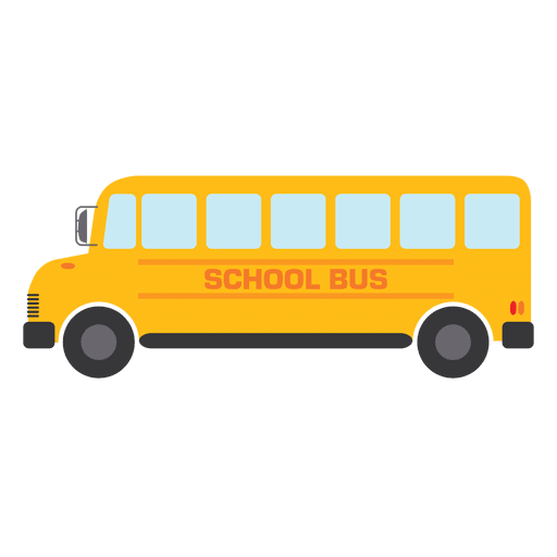 png black and white stock Vector bus yellow. School transparent png svg