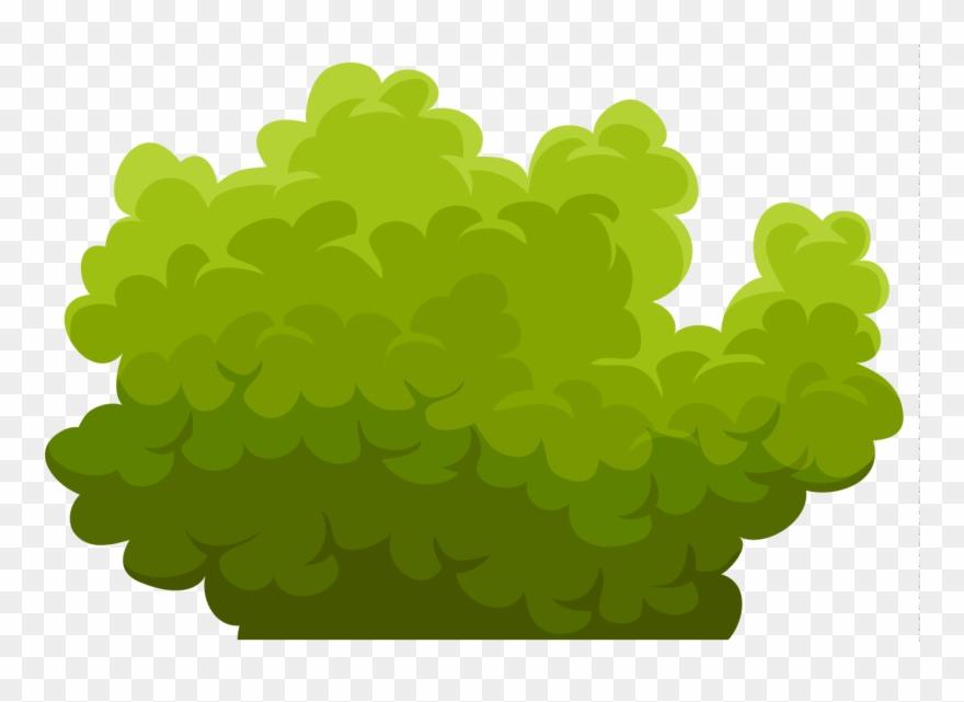 clip art transparent download Bushes clipart. Green bush cliparts png