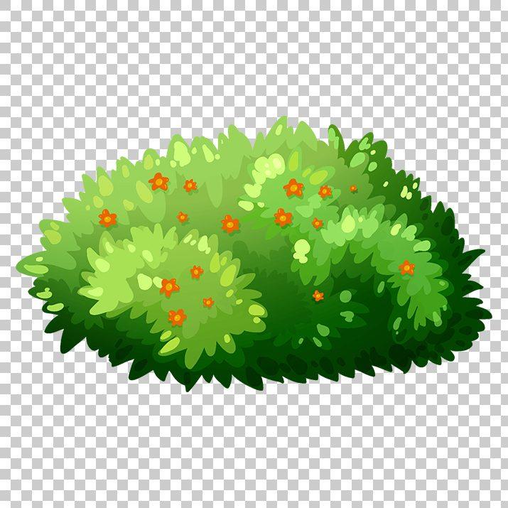 banner free stock Bush clipart. Flowers clip art png