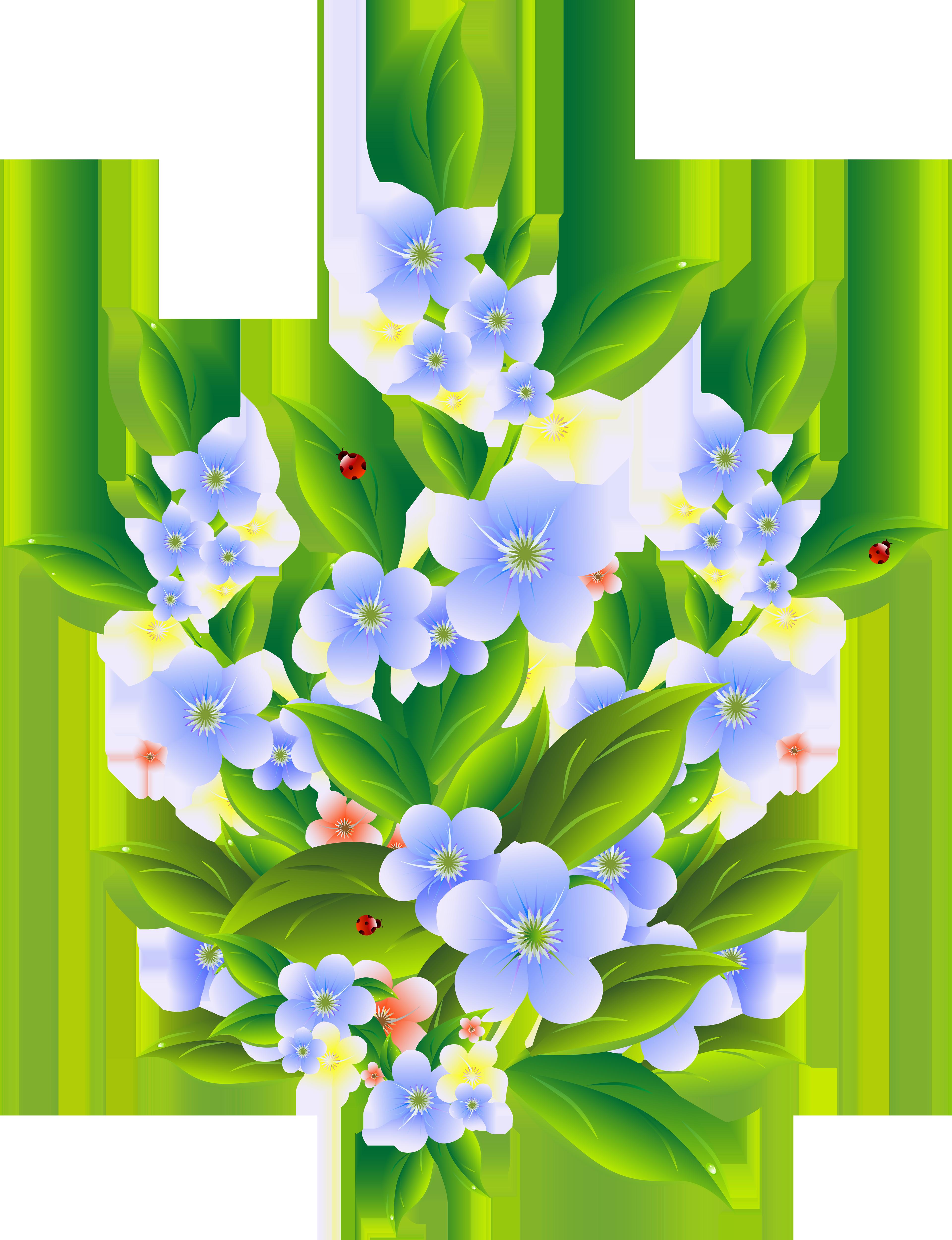download Bush clipart. Floral decoration transparent clip