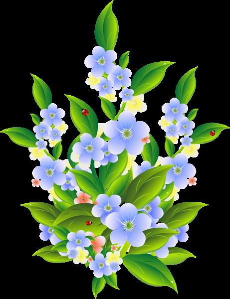 png library Floral decoration clip art. Bush clipart transparent flower.