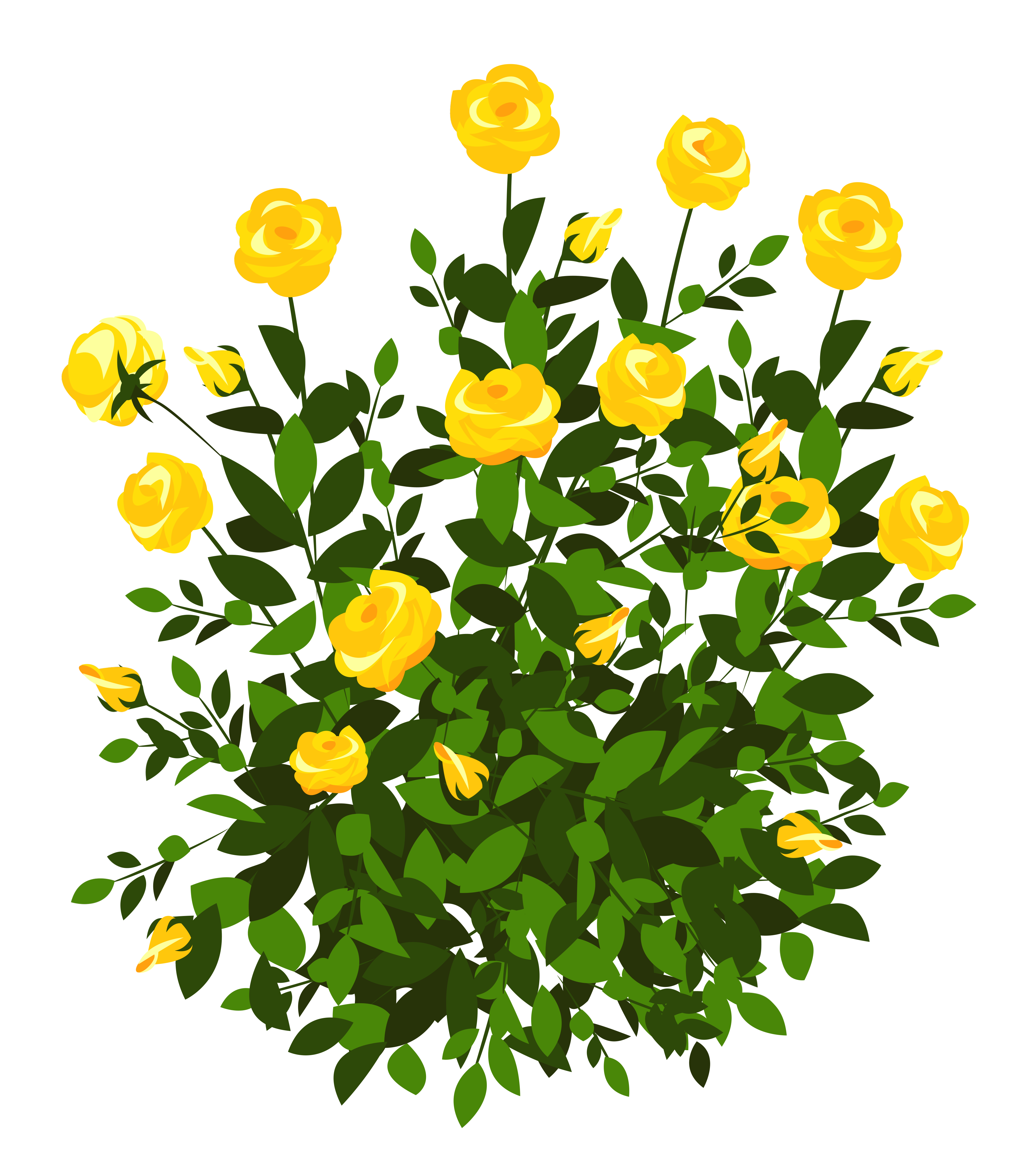 vector black and white stock Bush clipart transparent flower.  collection of background.