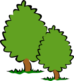 royalty free library Small trees i royalty. Bushes clipart