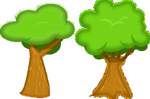 clipart Soft trees clip art. Bushes clipart forest.