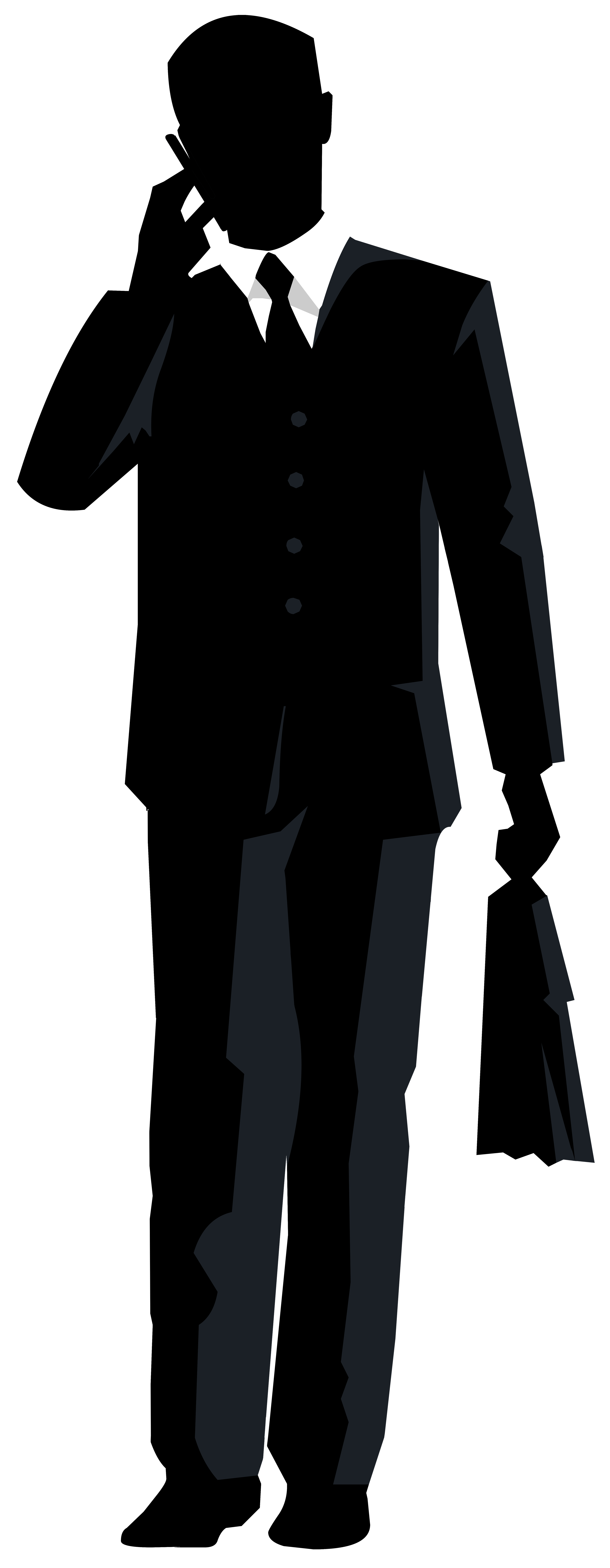 clipart transparent stock Businessman clipart elegant man. Silhouette at getdrawings com.