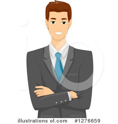 clipart Illustration by bnp design. Businessman clipart.