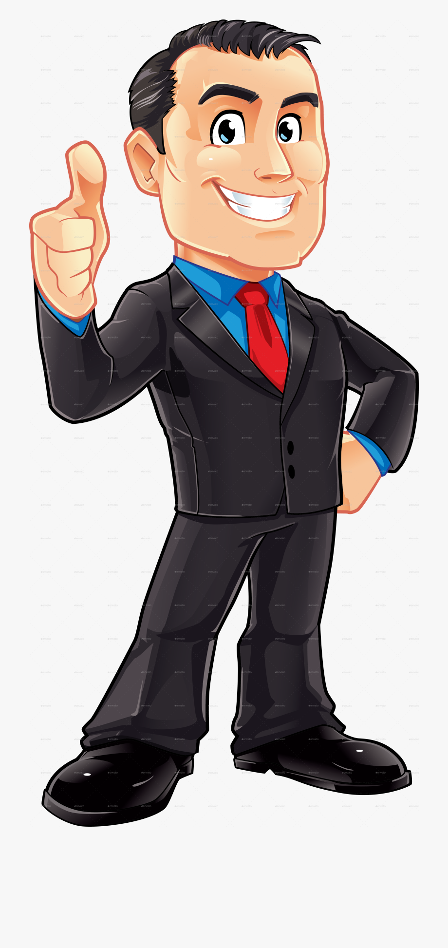 clip black and white stock Businessman clipart. Fancy man business mascot.