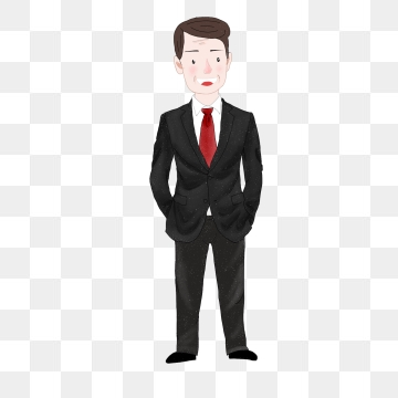 jpg black and white stock Png images download resources. Businessman clipart elegant man.