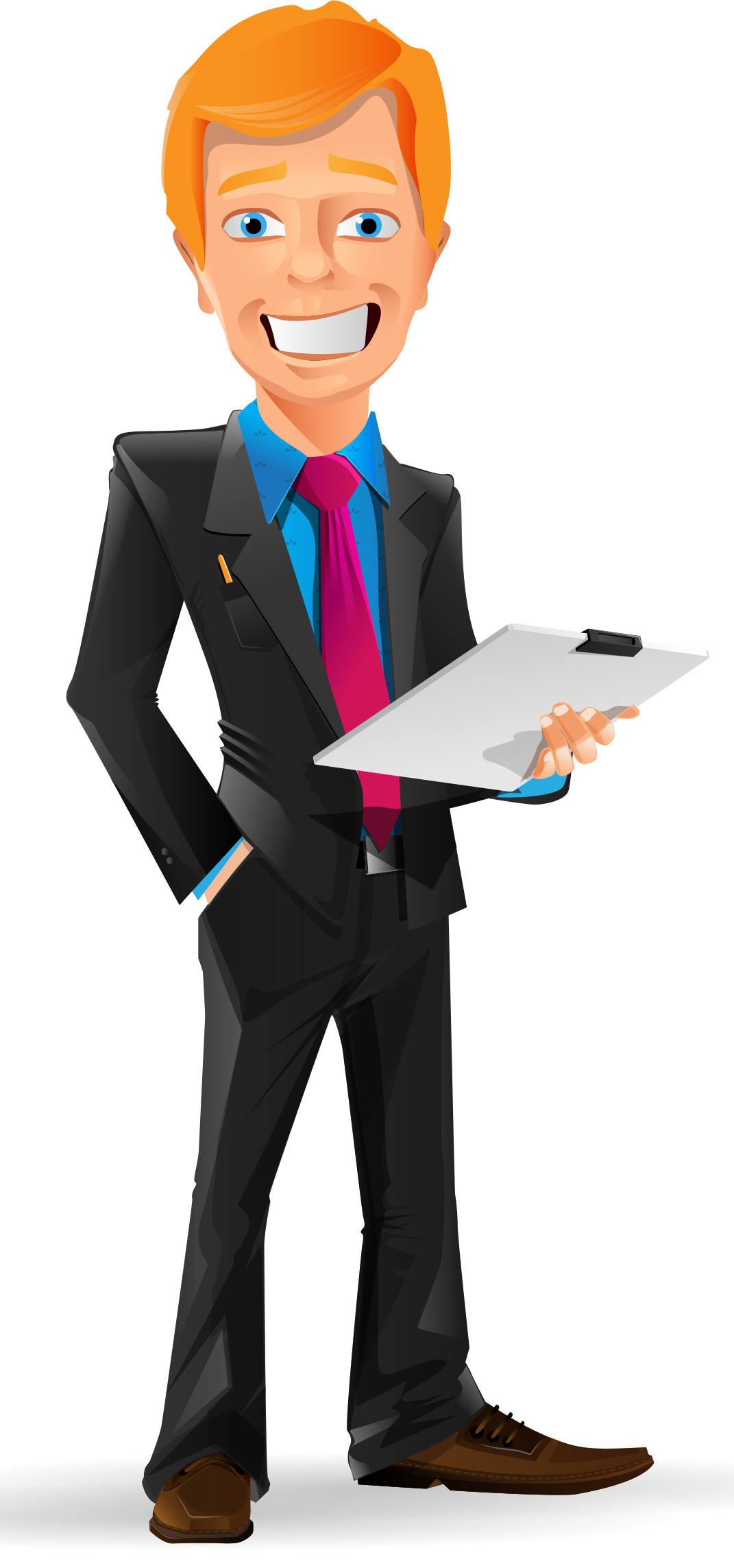vector free library Smiling character http www. Vector business businessman
