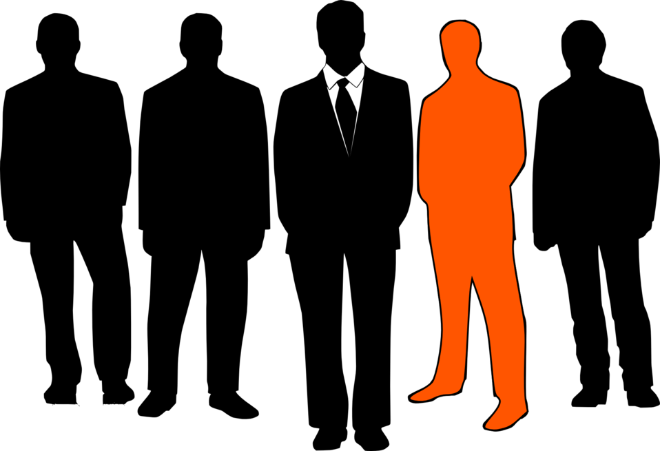 picture royalty free download Male silhouette clip art. Staff clipart office personnel