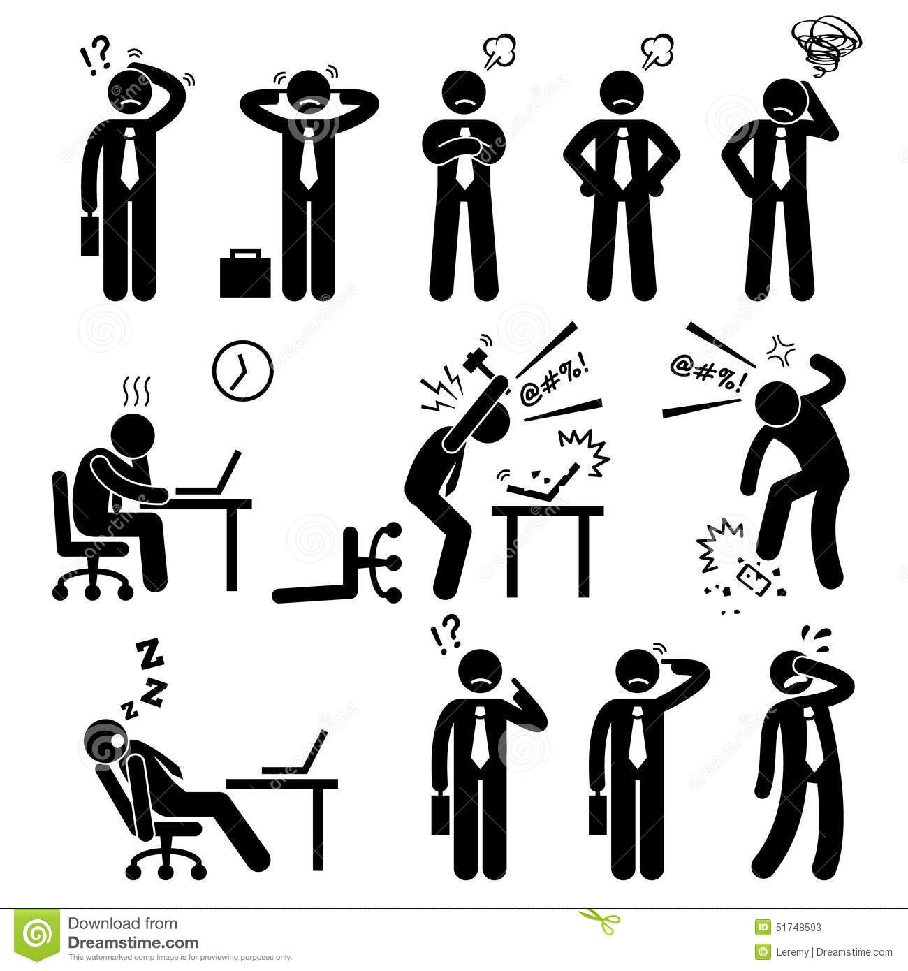 free download Stress business man pressure. Businessman clipart stressed.