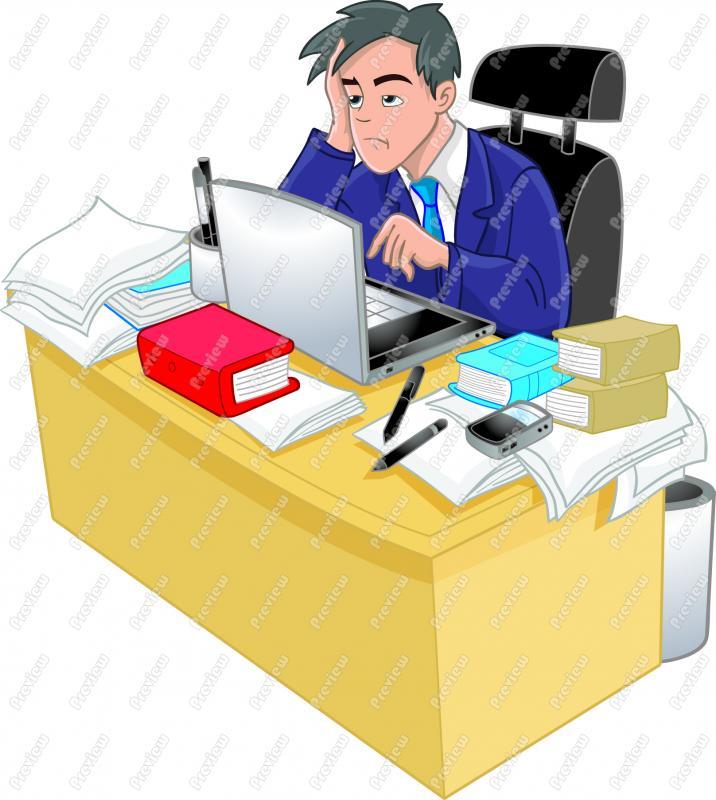 clipart transparent stock . Businessman clipart stressed.