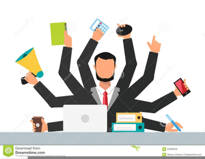 banner black and white Businessman clipart stressed. Free images at clker.