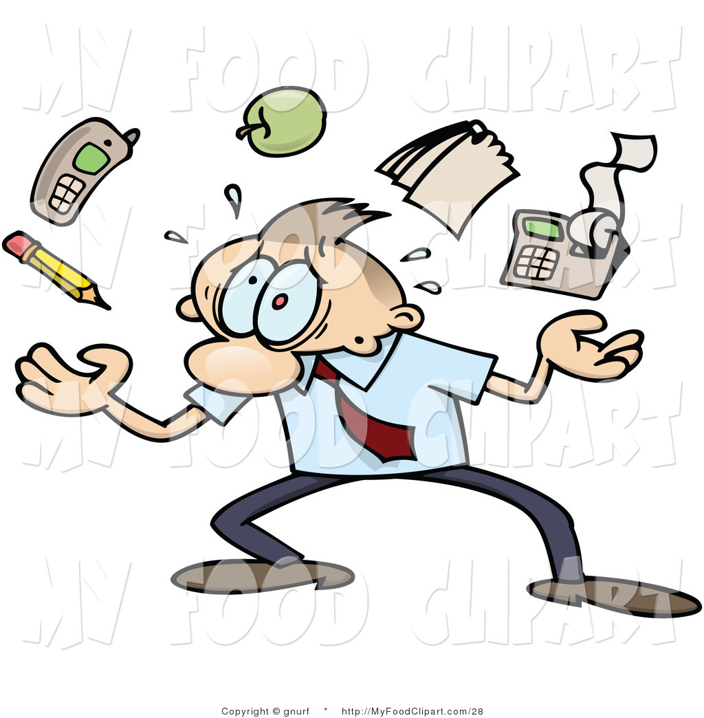picture black and white download Businessman clipart stressed. Royalty free stock food.