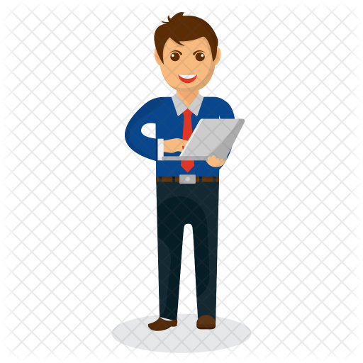 banner transparent stock Businessman clipart successful job. Icon avatar smileys icons.