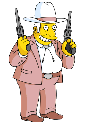 image transparent The rich texan simpsons. Businessman clipart tycoon.