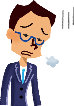 svg Tired free illustrations illustorium. Businessman clipart worried.