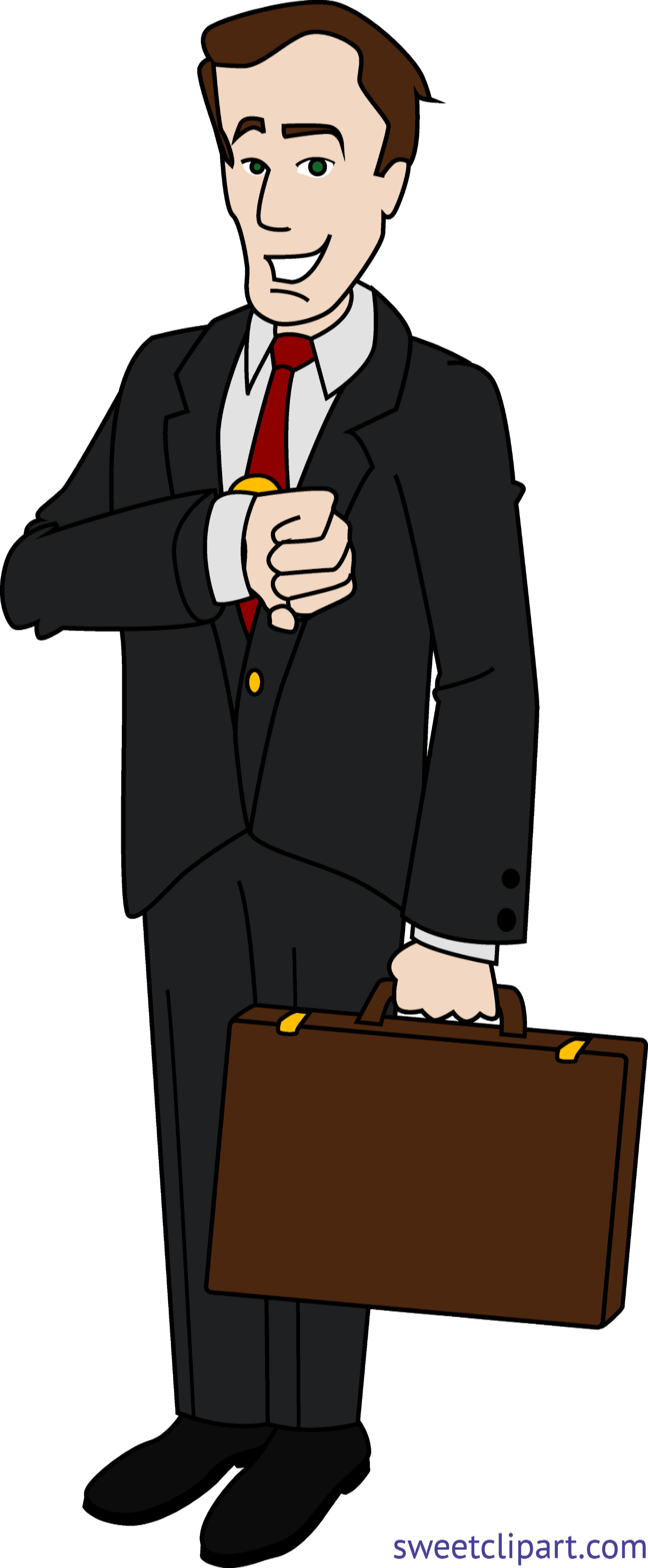 clip transparent stock Businessman clipart. Clip art sweet