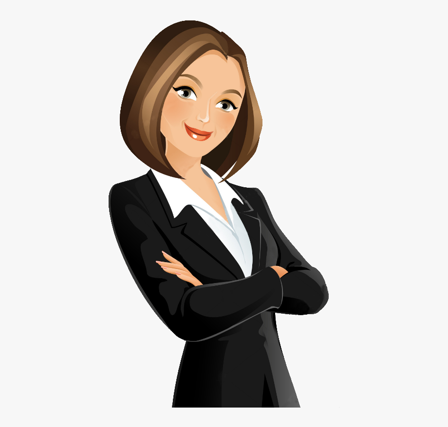 graphic royalty free download Woman images png cartoon. Businesswoman clipart