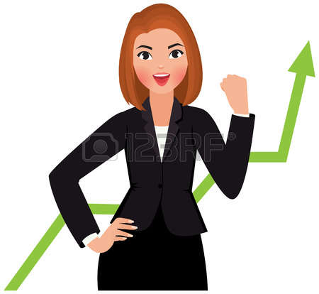 clipart royalty free stock Businesswoman clipart. Station