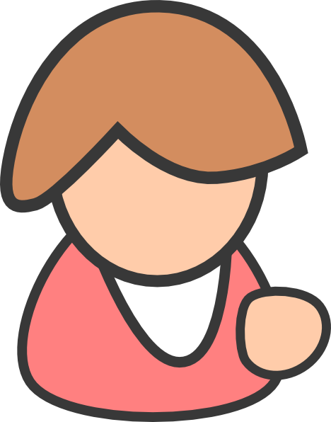 freeuse Business woman clip art. Female clipart.