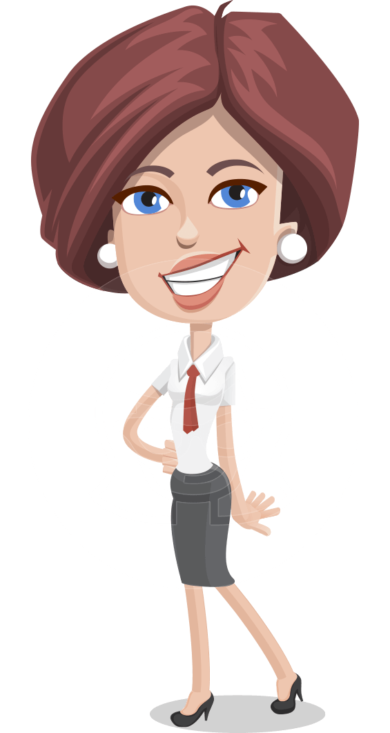 image free library Vector successful business character. Businesswoman clipart bussiness woman.
