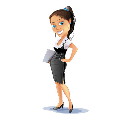 jpg transparent library Free cliparts download clip. Businesswoman clipart bussiness woman.