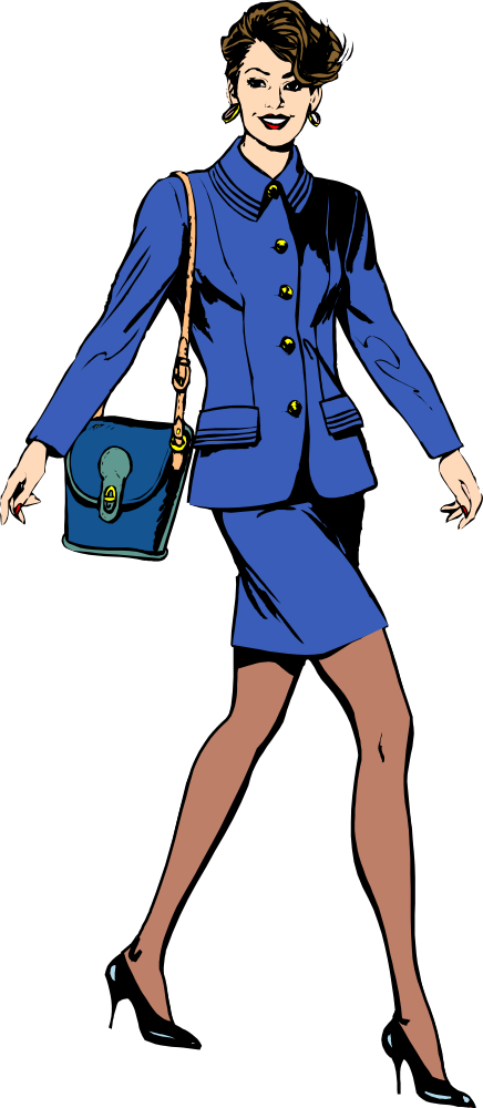 vector free stock Businesswoman clipart bussiness woman. Onlinelabels clip art architetto.