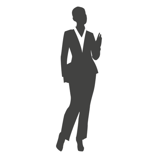 png download Silhouette Business Woman at GetDrawings