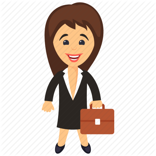 svg freeuse stock Business characters by vectors. Businesswoman clipart woman entrepreneur.