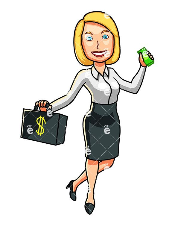 clip freeuse library . Businesswoman clipart working lady.