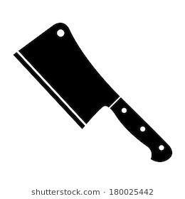 image freeuse stock Butcher knife clipart. Station