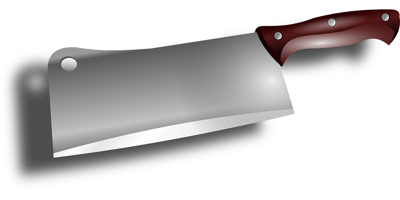 png library library Cleaver clip art sharp. Butcher knife clipart