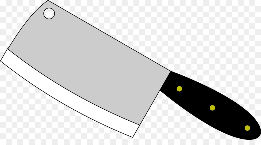 graphic freeuse download Kitchen cartoon transparent clip. Butcher knife clipart