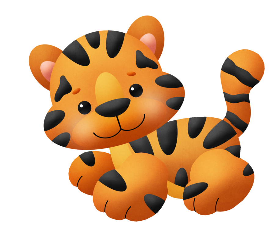 picture royalty free library Kitty or tiger clip. Butt clipart baby sock.