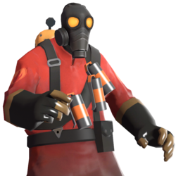 image black and white butt transparent tf2 pyro #110255340